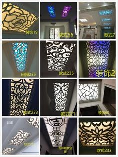 Buy Pvc hollow carved plate MDF ceiling partition screen porch flower lattice flower plate corridor decorative wall in Pvc Ceiling Design, Bedroom False Ceiling Design, Tv Wall Design, Roof Design, Design Bedroom, False Ceiling Living Room, Ceiling Design Living Room, House Window Design, Room Partition Designs