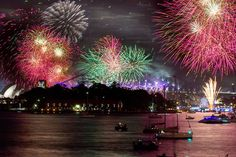 New Years Eve fireworks, Sydney Harbour National Park. Image credit: Edwina Pickles, National Parks