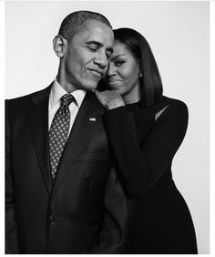 First Lady Michelle Obama and President Barack Obama. Photo by  Cass Bird