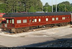 RailPictures.Net Photo: TVRM 98 Tennessee Valley Railroad Business Car at Chattanooga, Tennessee by Jonathan Guy