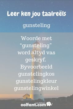 Gunsteling | woorde met gunsteling kom altyd vas | Samestellings | beterafrikaans.co.za Career Quotes, Success Quotes, Dream Quotes, Best Quotes, Afrikaans Language, Wisdom Quotes, Quotes Quotes, Life Quotes, Afrikaanse Quotes