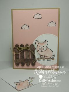 This Little Piggy | Stampin' Up!