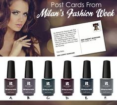 Love these colors! So sultry!!!! #rcmnailit #rcmawardseason