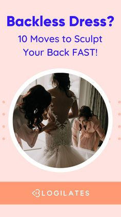 Wedding workout plan for brides, especially wearing a backless dress! This back workout for women has great exercises for shoulders and your back to get a toned back fast, just in time for your wedding. Here's the best toned back workout you need to get started. Workout Inspiration, Fitness Inspiration, Toning Workouts, Exercises, Wedding Dreams, Dream Wedding, Back Toning, Back Workout Women, Blogilates