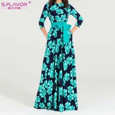 Women Bohemian Long Dress Hot Sale Spring Summer Fashion Printing Vestidos For Female Good Quality Women Elegant Dress Size S Color Black Elegant Dresses, Casual Dresses, Fashion Dresses, Maxi Dresses, Loose Dresses, Wrap Dresses, Dress Long, Evening Dresses, Bridesmaid Dresses