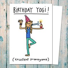 Are You Interested In Our Birthday Card Yoga Teacher With Funny Need Look No Further