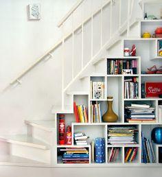 20 ideias para aproveitar o espaço embaixo da escada! - Blog Casa Decorada - Ideias para decorar sua casa!