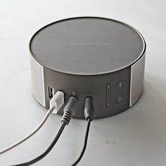 Williams-Sonoma Bluetooth Speaker. Sweet Design! #speakers #audio #tech