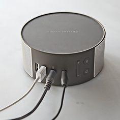 Williams-Sonoma Bluetooth Speaker. Sweet Design! #speakers #audio #tech