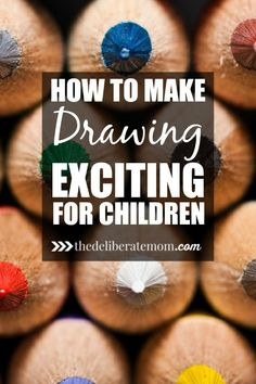 Check out these awesome tips and suggestions for how to make drawing exciting for children.