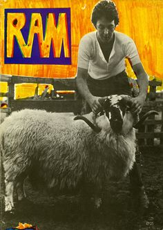 RAM Album  Author: Paul McCartney Publication Date: 1971 Publisher: Distributed by Music Sales Limited Pages: 50 Content  TRACK LISTING: TOO MANY PEOPLE; 3 LEGS; RAM ON; DEAR BOY; UNCLE ALBERT/ADMIRAL HALSEY; SMILE AWAY; HEART OF THE COUNTRY; MONKBERRY MOON DELIGHT; EAT AT HOME; LONG HAIRED LADY; RAM ON; THE BACK SEAT OF MY CAR.