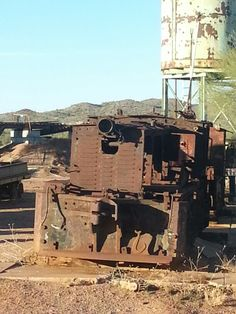 Goldfield ghost town in Nevada