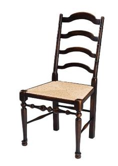 Bernadette Livingston High End Furniture Dining Side Chair Mult 2 Ebonized Highlighted Walnut Finish