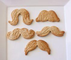 Moustache Cookies - Maple and Cinnamon