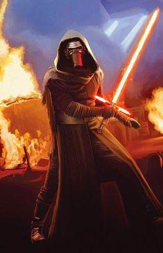 Kylo Ren promo poster di Star Wars: Il Risveglio della Forza