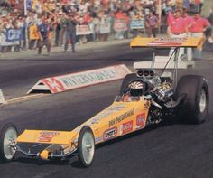 Don the snake Prudhomme drag racing