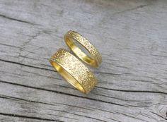 Wedding ring set  by Efrat Deutsch