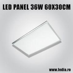 Panou led panel 36w 60x30 cm