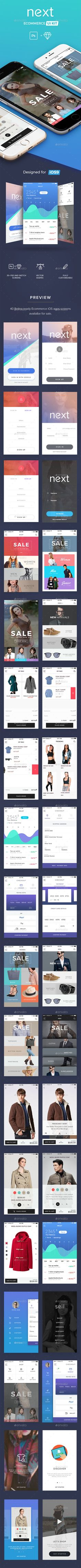 Next Ecommerce UI Kit - User Interfaces Web Element Template PSD. Download here: http://graphicriver.net/item/next-ecommerce-ui-kit/16634692?s_rank=226&ref=yinkira