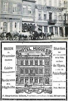 Bucuresti, Calea Victoriei, 1882 Hotel Hugues Bucharest Romania, Amen, Memories, Architecture, Film, Cousins, Cards, Bucharest, Memoirs