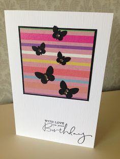 Randis hobbyverden: CAS kort med sommerfugler nr 1