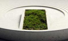 Gray Concrete Modern Desktop Plant Pot Flower Pot