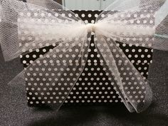 Black & White Polka Dot Envelopes by buttonsbowsandbling, $0.74