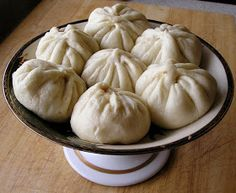 Traditional Chinese Recipes: Zhu Rou Bao Zi (Steamed Pork Buns)