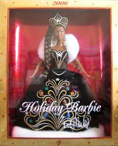 AmazonSmile: Barbie - 2006 Holiday Barbie AA by Bob Mackie - Collector Doll 2006 Mattel: Toys & Games