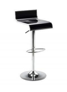 One piece glossy ABS #seat bar stool with swivel base. Durable gas lift height adjustment http://www.officefurniturescene.co.uk/glossy-abs-bar-stool