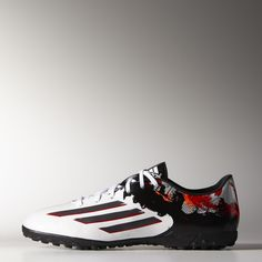 sports shoes 87c9d 1b04f adidas Botines de fútbol Messi 10.3 Césped Artificial - Blanco   adidas  Argentina Botines Futbol,