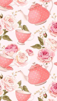 New Cupcakes Cute Pink Party Ideas Ideas Cute Wallpapers, Wallpaper Backgrounds, Iphone Wallpaper, Wallpaper Fofos, Cute Scrapbooks, Tout Rose, Digital Paper Free, Flowery Wallpaper, Printable Scrapbook Paper