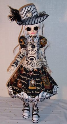 don't usually like dolls this one's cool