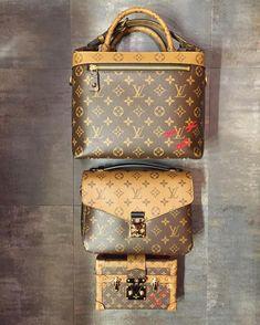 Lv Handbags, Chanel Handbags, Louis Vuitton Handbags, Fashion Handbags, Louis Vuitton Speedy Bag, Fashion Bags, Louis Vuitton Monogram, Leather Handbags, Fashion Outfits