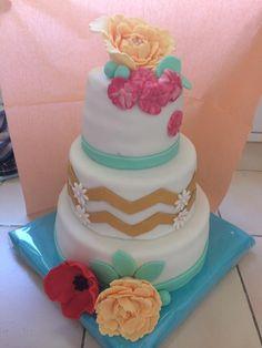 Gateau baptême Cake, Desserts, Food, Pie Cake, Tailgate Desserts, Pie, Deserts, Cakes, Essen
