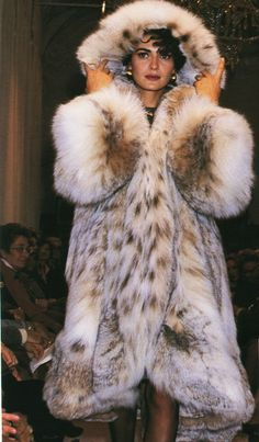 Totally awesome Lynx Fur Coat