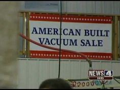 Why we LOVE to sell Riccar vacuums. Bring the jobs back to the U.S. !
