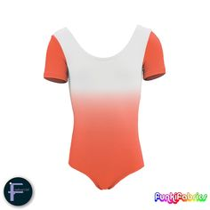 Our brand new 'mirror-shading' fabric in Orange #leotard #fabric #Lycra #Spandex https://funkifabrics.com/product/1814