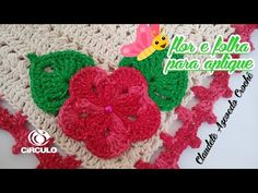 Flor e Folha para aplicação em crochê - YouTube Crochet Earrings, Crochet Hats, Youtube, Crochet Flower Patterns, Tunisian Crochet, Round Shag Rug, Crochet Necklace, Crochet Batwing Tops, Appliques