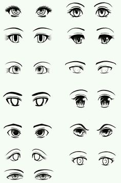 some anime eyes