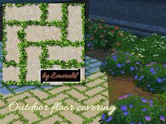 emerald's Outdoor floor covering.