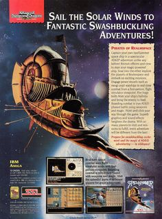 Spelljammer: Pirates of Realmspace | print ad (1992)