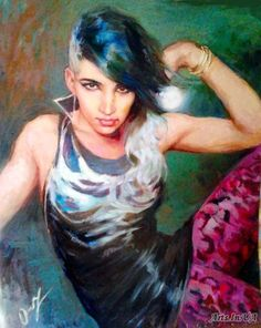 New Moon (portrait of Ashley Dzerigian) -. New Moon, Game Of Thrones Characters, Adam Lambert, Portrait, Fictional Characters, Image, Portrait Illustration, Fantasy Characters, Portraits