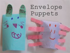 Easy Envelope Puppets