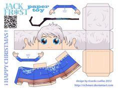 jack frost papercraft paper toy by Richmen.deviantart.com on @deviantART