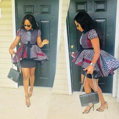 afrikanischer stil beautiful and classy chic ankara dress styles for ladies, african print ankara stylish top for ladie African Fashion Ankara, Ghanaian Fashion, Latest African Fashion Dresses, African Dresses For Women, African Print Dresses, African Print Fashion, Africa Fashion, African Attire, African Wear