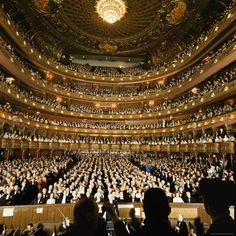 The Interior of the Metropolitan Opera House, New York City