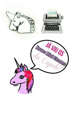 Já viu as novidades do site esta semana?  #lifesecrets #charms #capsulas  #cupidolovestore #vintage #unicornio