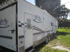 2004 Used Thor Motor Coach Four Winds Winner Circle WINNERS CIRCLE 35SRV Toy Hauler in Florida FL.Recreational Vehicle, rv, 2004 Thor Motor Coach Four Winds Winner Circle WINNERS CIRCLE 35SRV, Winners Circle Edition 35 foot. LOADED WITH OPTIONS AND LIGHTLY USED. RARE DOUBLE SLIDE!! Beautiful interior that is normally found on standard type trailers. Was used as a day trailer on my farm. Well maintained by local RV mechanic. Everything works well and RV is hooked up and ready to test. Some…