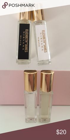 Elizabeth and James rollerballs Both nirvana black and white rollerballs net never used. 7 ml each. Sephora Accessories